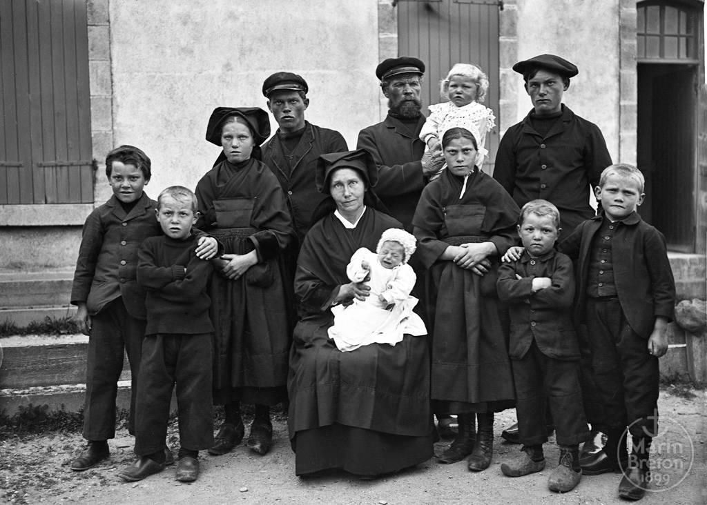 Famille de l'Ile de Sein (1914-1918)
