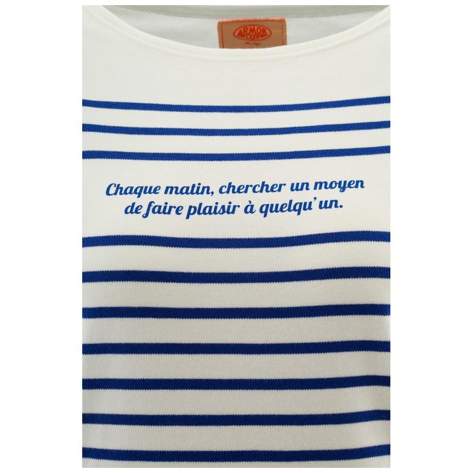9920451a24cc2 Marinière manches longues Femme - Œuvre du Marin Breton